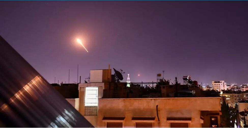 سوريا تتصدى لعدوان إسرائيلي