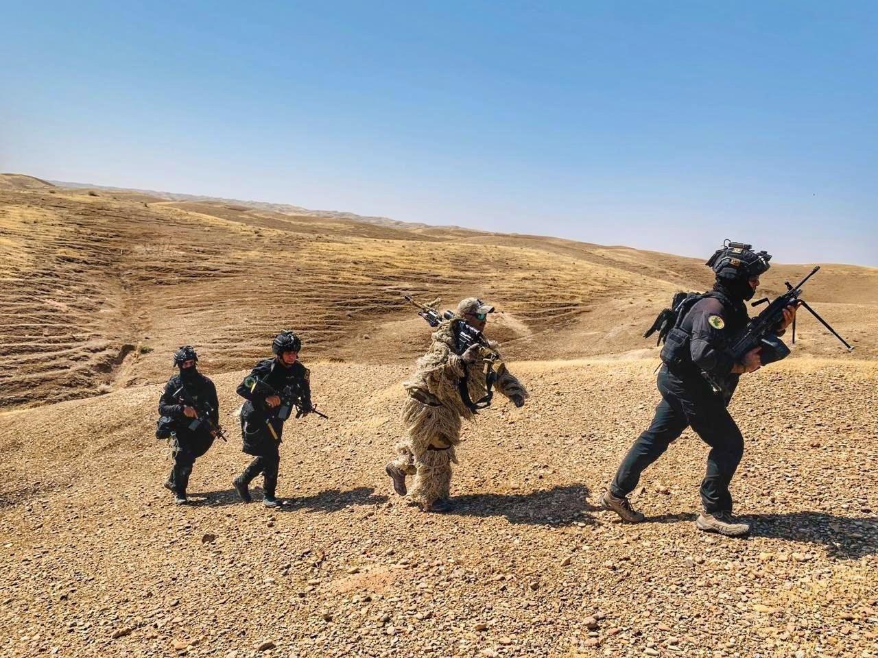 جاءت العملية الأولى في منطقة الرضوانية غربي العاصمة بغداد