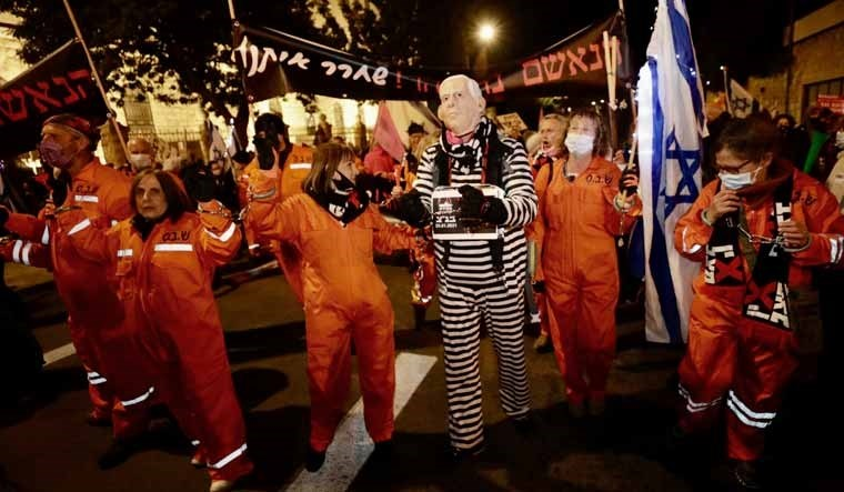 الإسرائيليون مستمرون في التظاهر ضد نتنياهو
