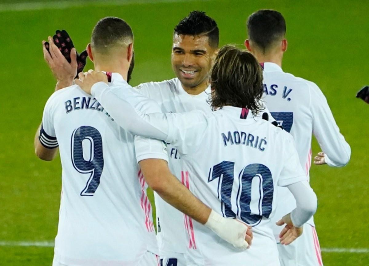 فاز ريال مدريد على ألافيس 4-1