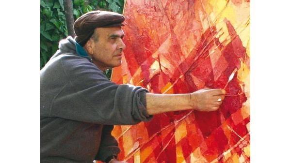 الفن التشكيلي الأردني مهنا الدرة