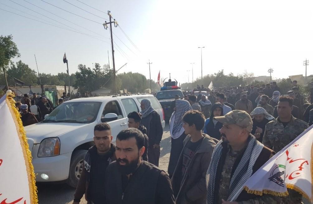 شهداء الحشد الشعبي ارتقوا بهجوم لعناصر داعش على جزيرة العيث في محافظة صلاح الدين