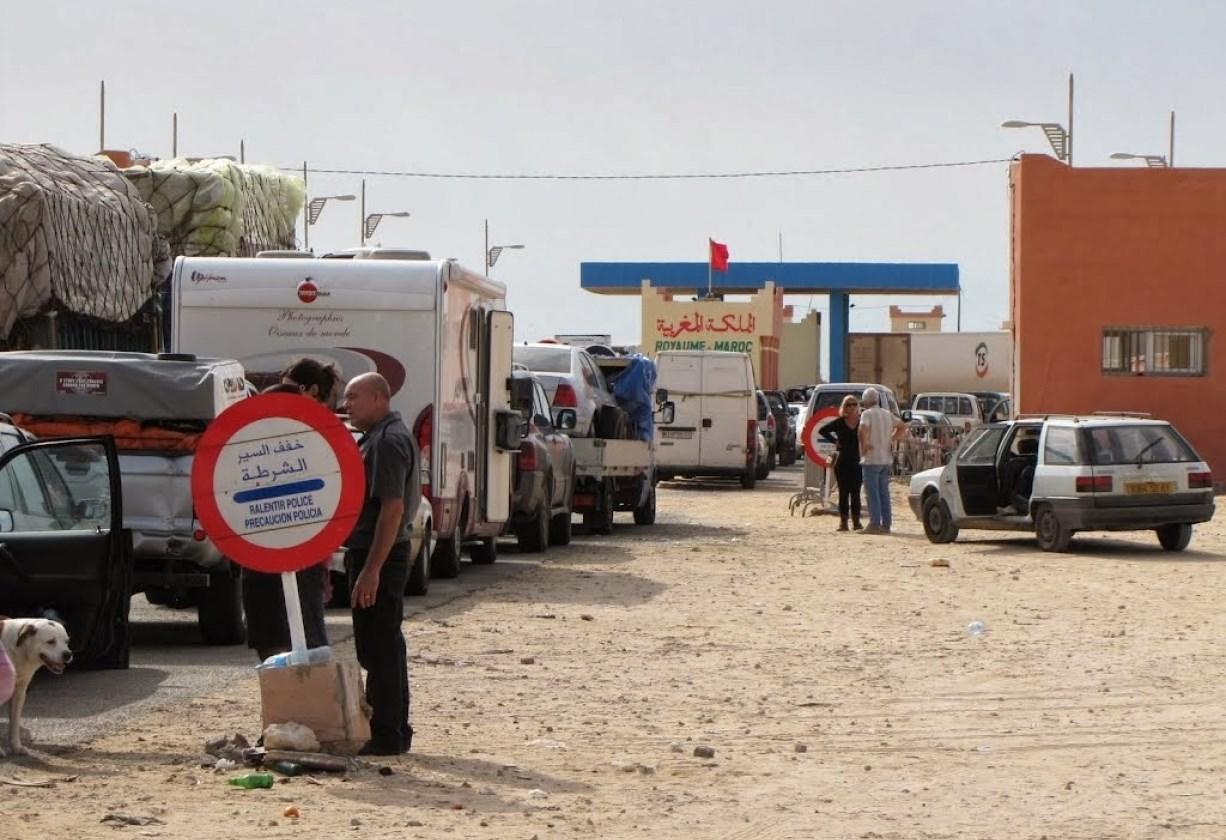 الحدود المغربية الموريتانية