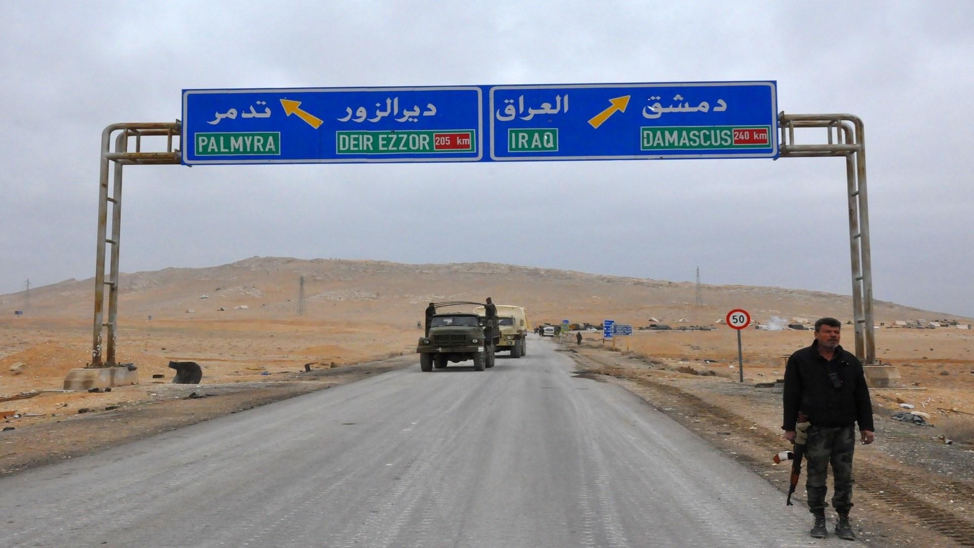 كمين عناصر داعش للحافلة العسكرية أدى إلى استشهاد 3 عسكريين وجرح 10 آخرين