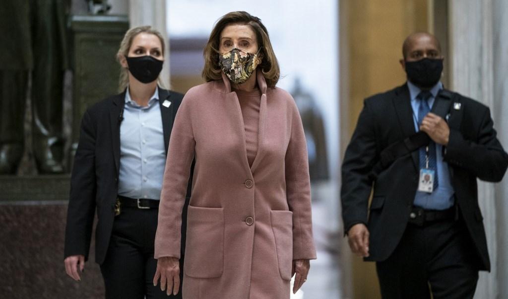 رئيسة مجلس النواب الأميركي نانسي بيلوسي (أ ف ب - أرشيف)