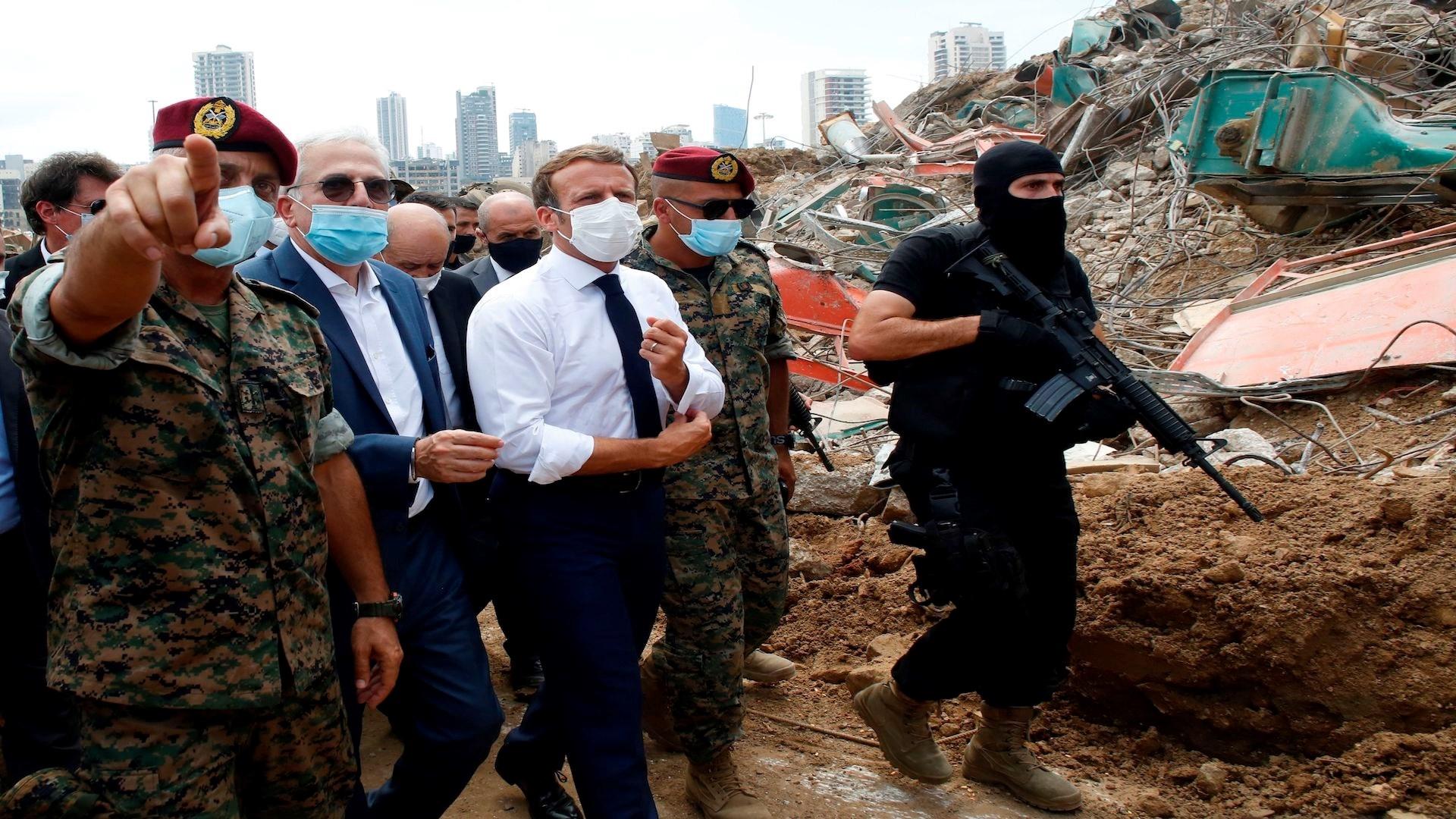 في سبتمبر/أيلول، أعلن ماكرون أن المبادرة الفرنسية حول لبنان لم تسحب عن الطاولة