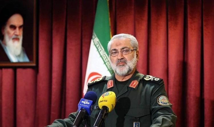 المتحدث الأعلى باسم القوات المسلّحة الإيرانية أبو الفضل شكارجي (صورة أرشيفية).