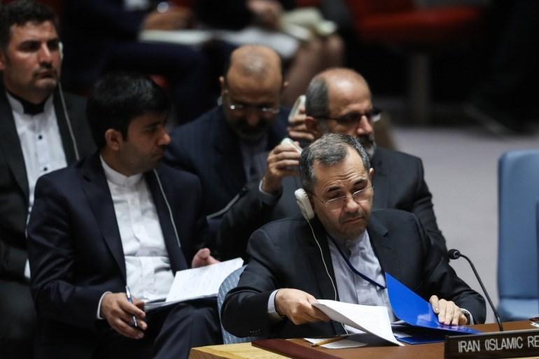 ممثلية إيران في الأمم المتحدة: الإدارة الجديدة تنتهك تعهداتها وقرار مجلس الأمن الدولي