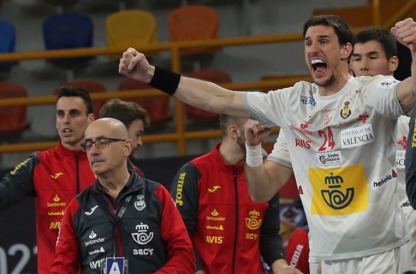 فاز منتخب إسبانيا بطل أوروبا على وصيف بطل العالم منتخب النروج