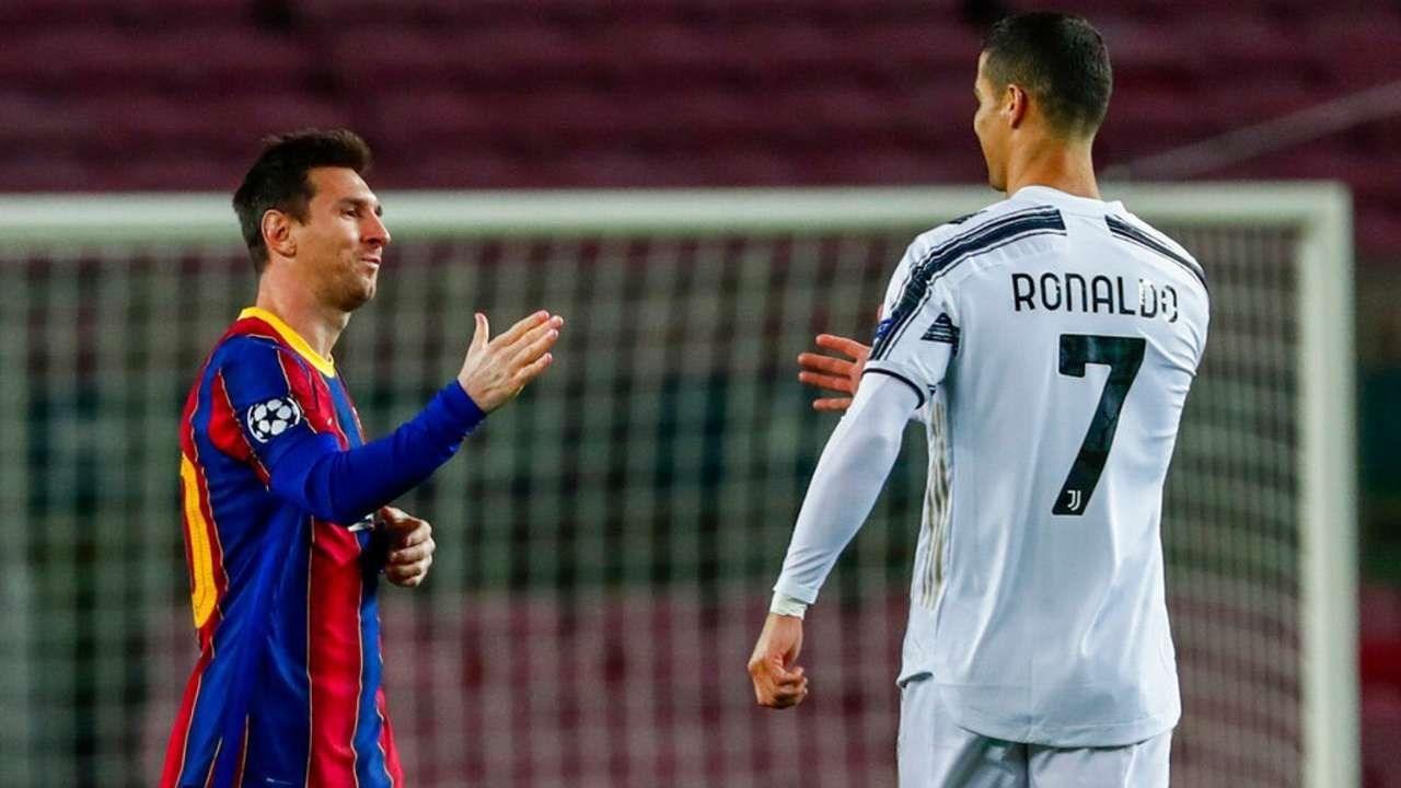 رونالدو وميسي في مواجهة يوفنتوس وبرشلونة