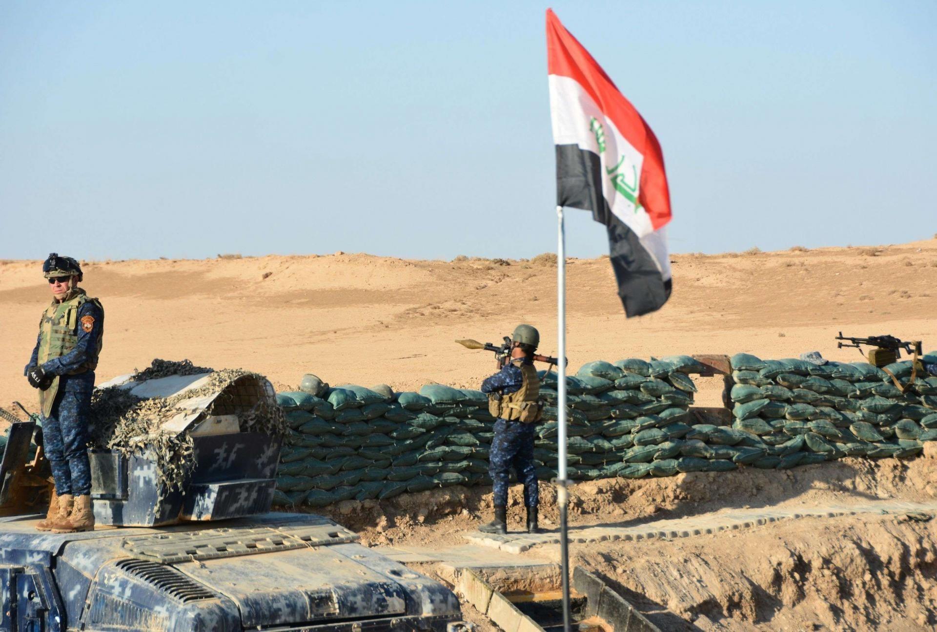 العراق: مقتل 3 إرهابيين جنوب غربي الرطبة