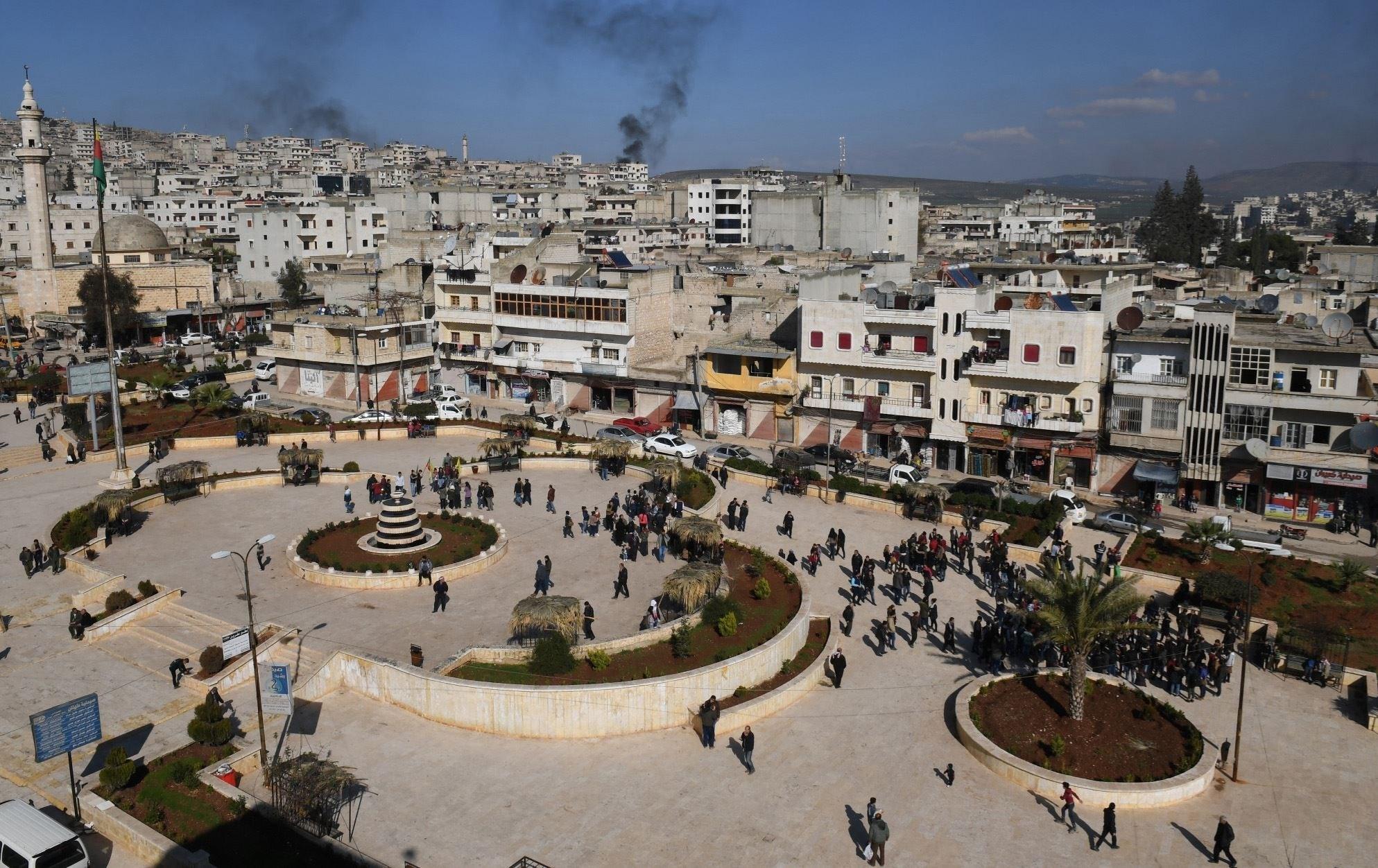15 شهيداً وجريحاً بانفجارِ سيارة مفخخة في عفرين شمال حلب