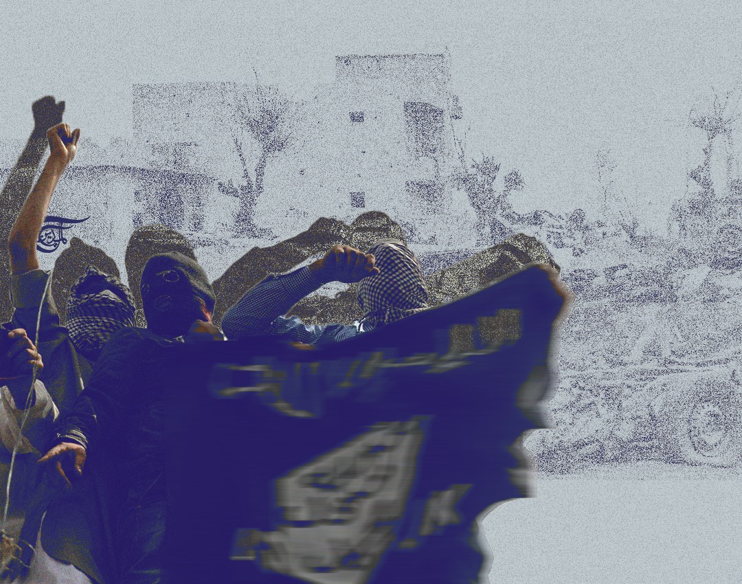 تعتمد فلول داعش في سوريا على استخدام الأسلحة الخفيفة والعبوات
