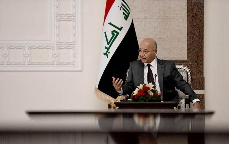 صالح: نرفض التدخل الخارجي.. وهناك مخطط لإغراق العراق في صراعٍ داخلي