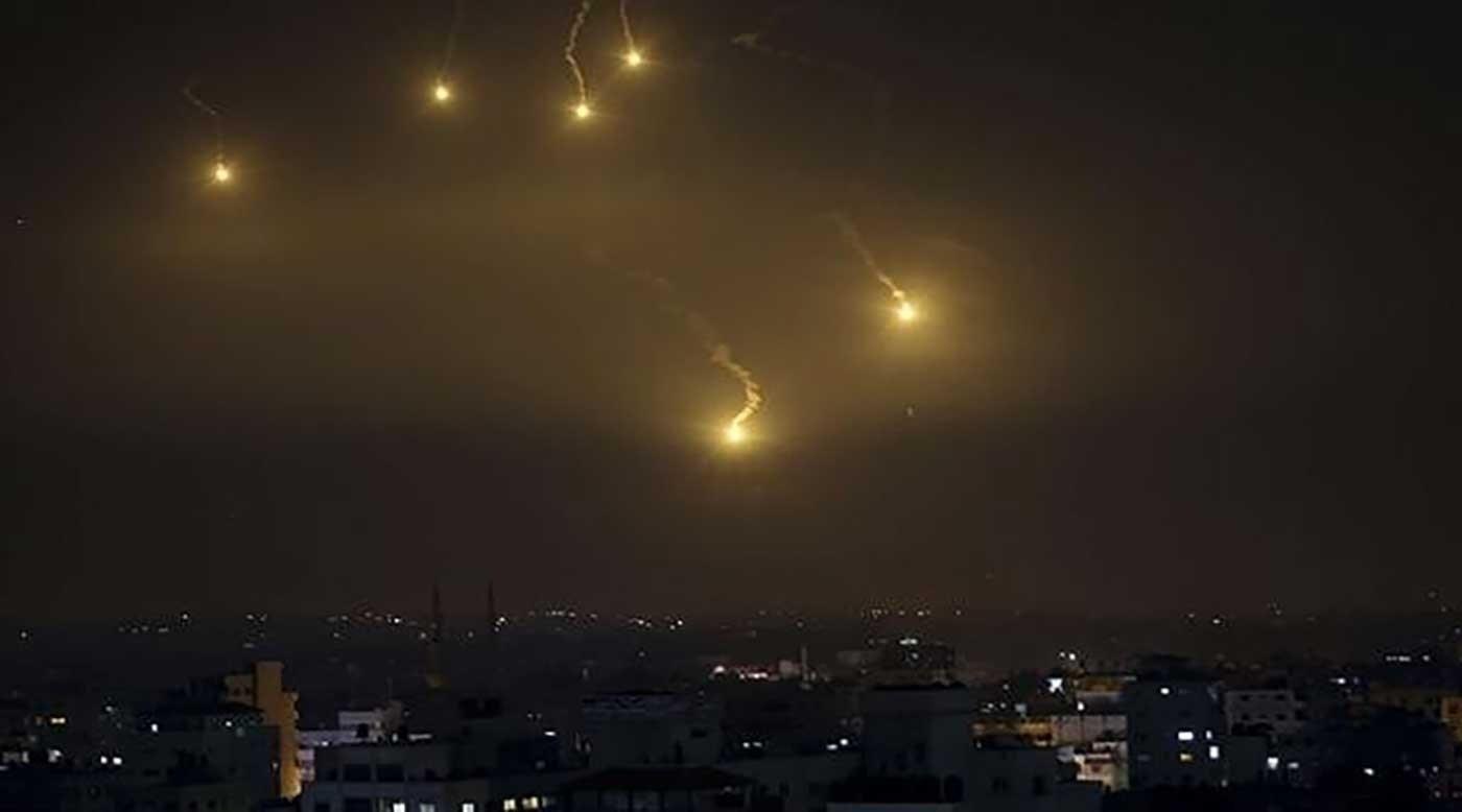 وسائط الدفاع الجوي السوري تصدت لعدوان إسرائيلي في سماء المنطقة الجنوبية