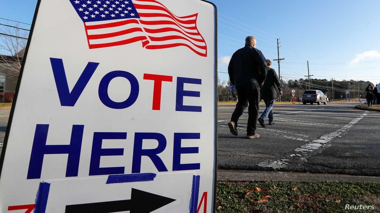 فوز المرشحين الديموقراطيين في انتخابات ولاية جورجيا الأميركية