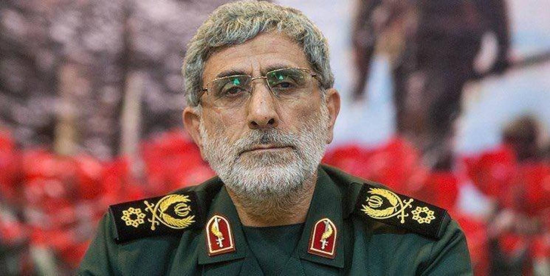 الجنرال قاآني: قرار الأخذ بثأر الشهيد قاسم سليماني اتخذ ساعة اغتياله