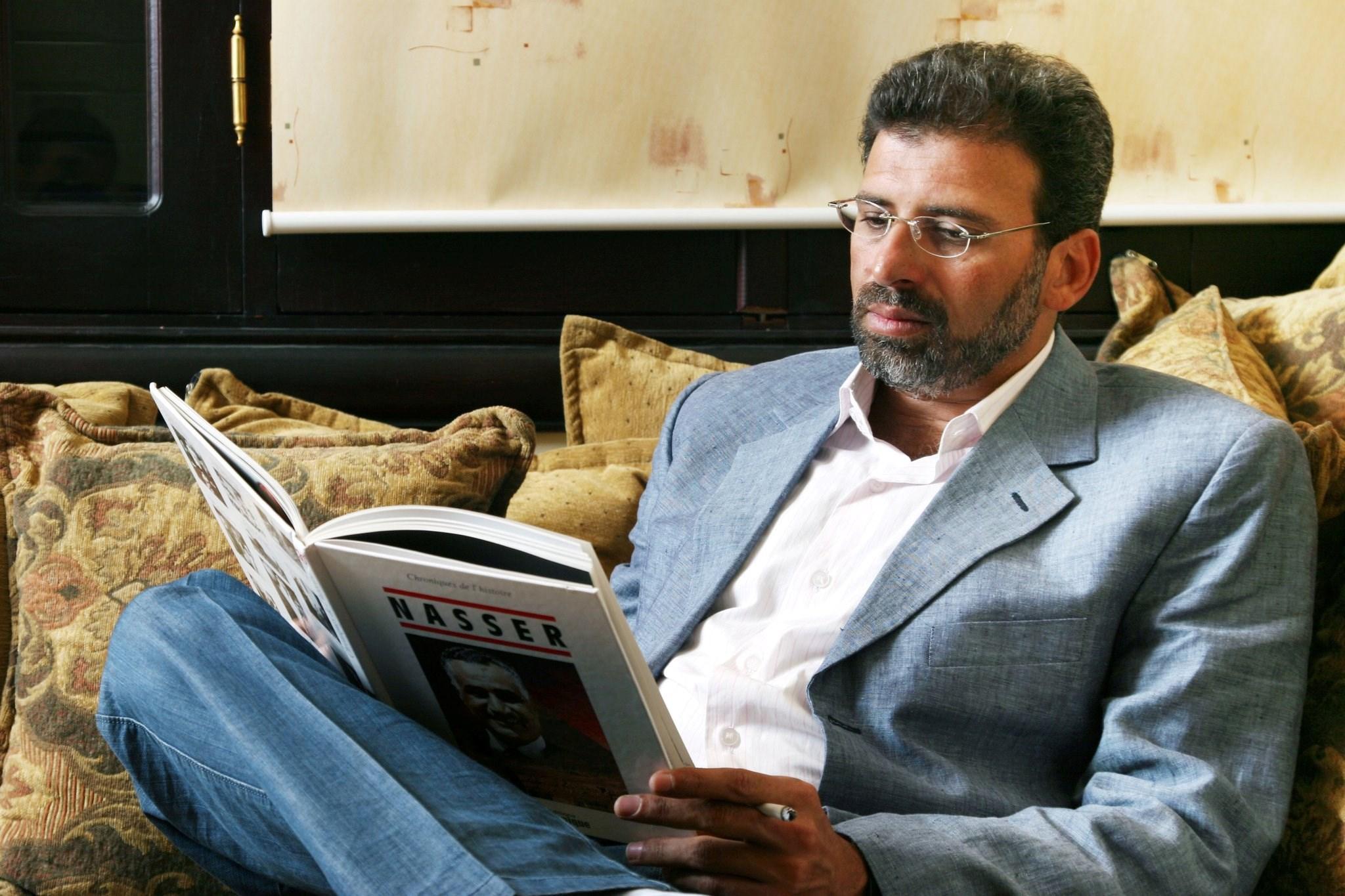 المخرج المصري خالد يوسف (صورة أرشيفية).