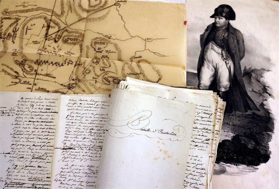 عرض مخطوطة تاريخية ثمينة لنابليون للبيع