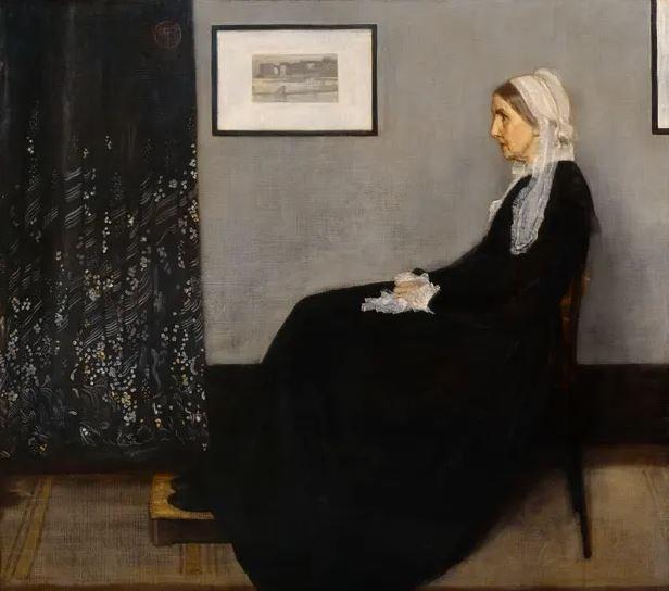 سقط القِناع (James Abbott McNeill Whistler)