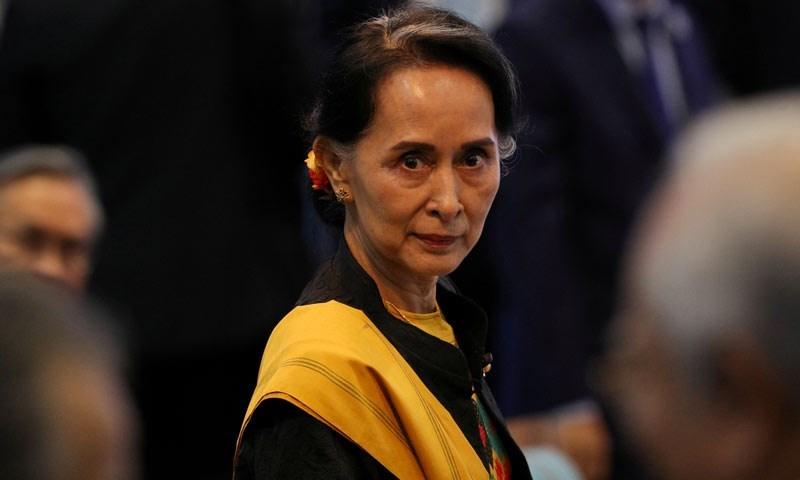 رئيسة الحكومة في ميانمار أونغ سان سوكي