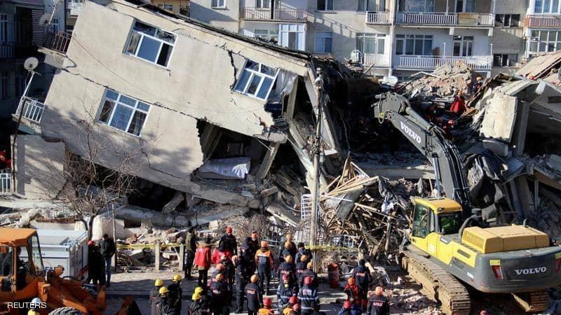 مركز رصد الزلازل الأورومتوسطي: وقع الزلزال على عمق 10 كيلو مترات