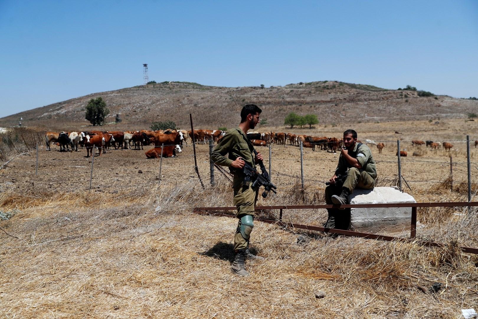 قوات الاحتلال الإسرائيلي تختطف راعي أغنام في قرية بريقة بريف القنيطرة الجنوبي