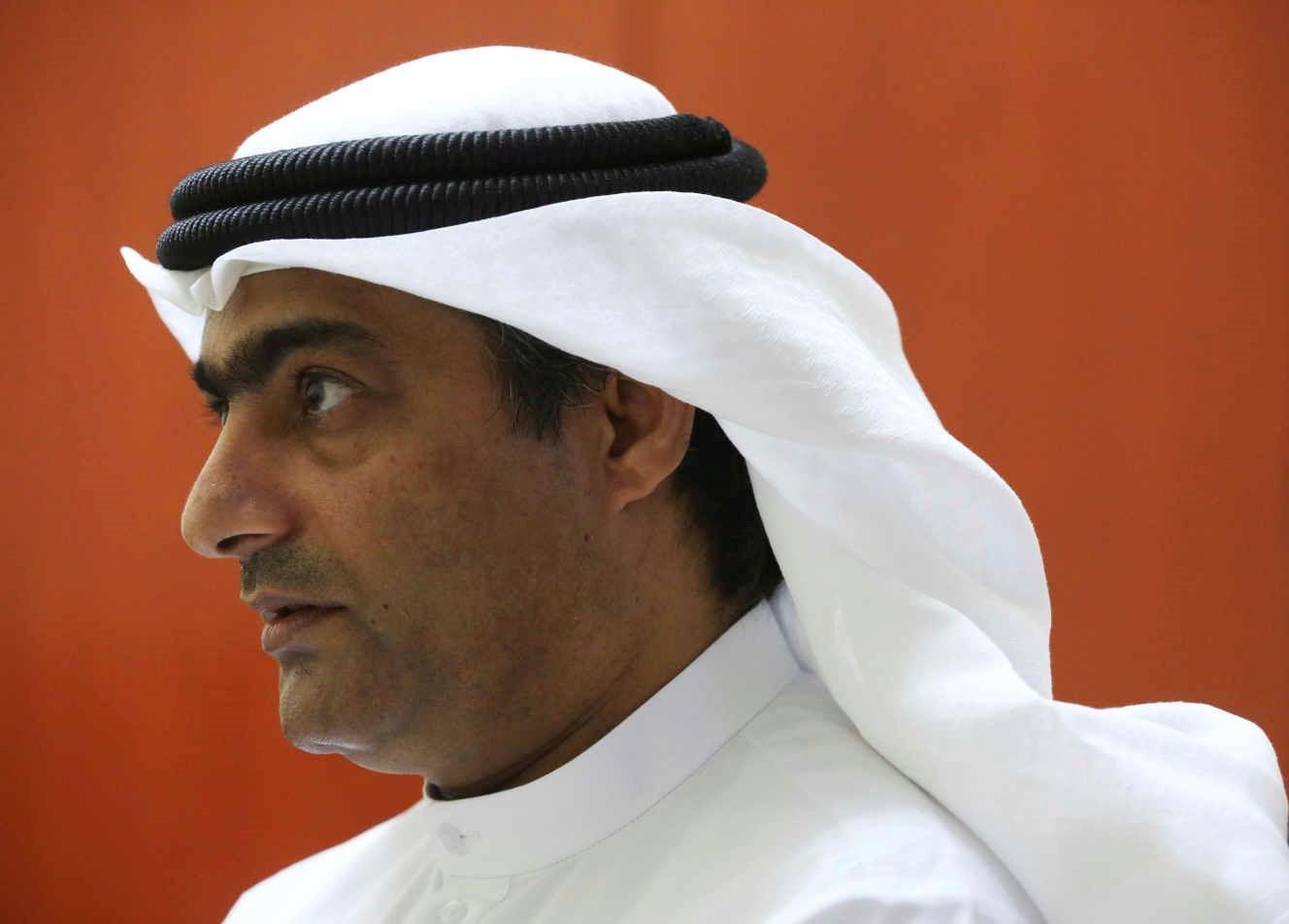 الناشط الحقوقي أحمد منصور في صورة من الأرشيف. الصورة لوكالة أسوشيتد برس,