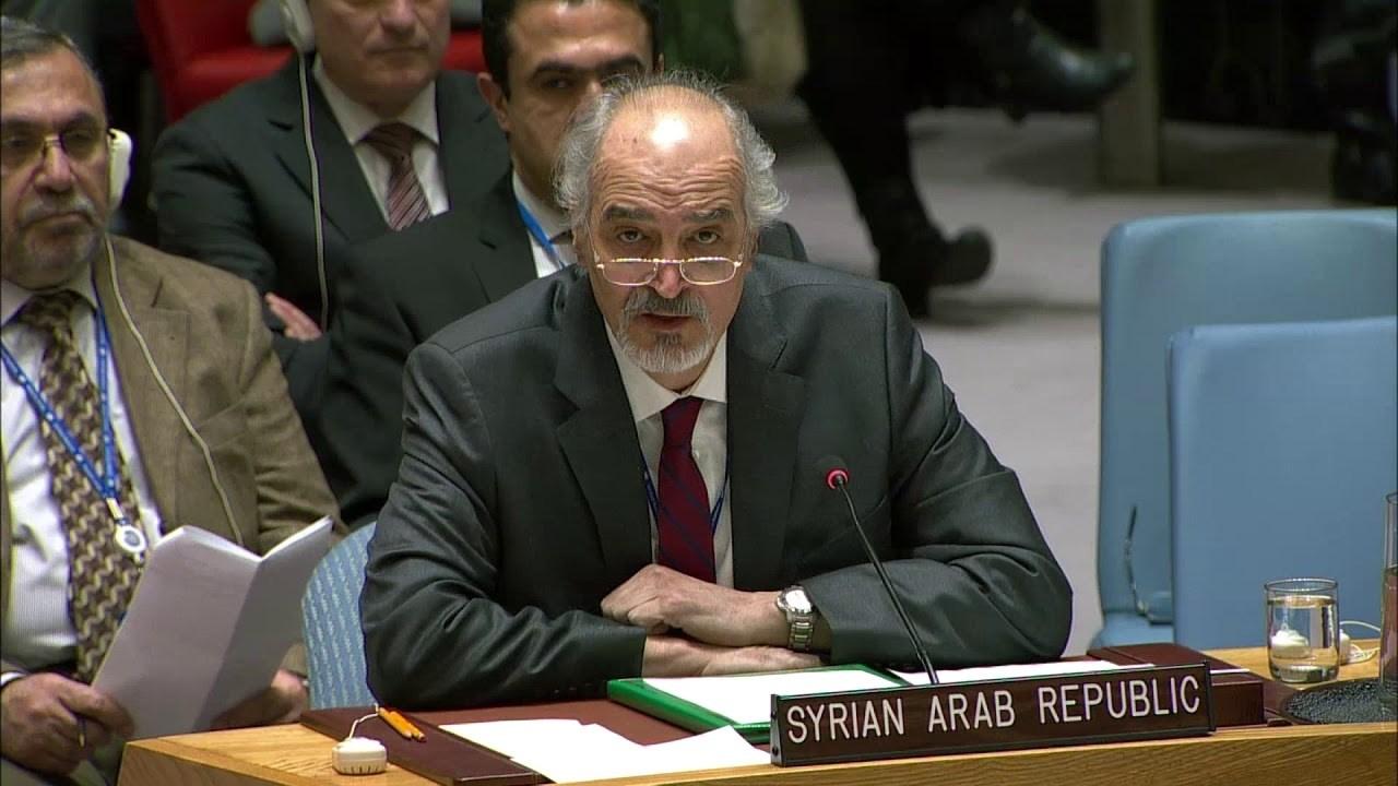 مندوب سوريا الدائم لدى الأمم المتحدة بشار الجعفري (صورة  أرشيفية).