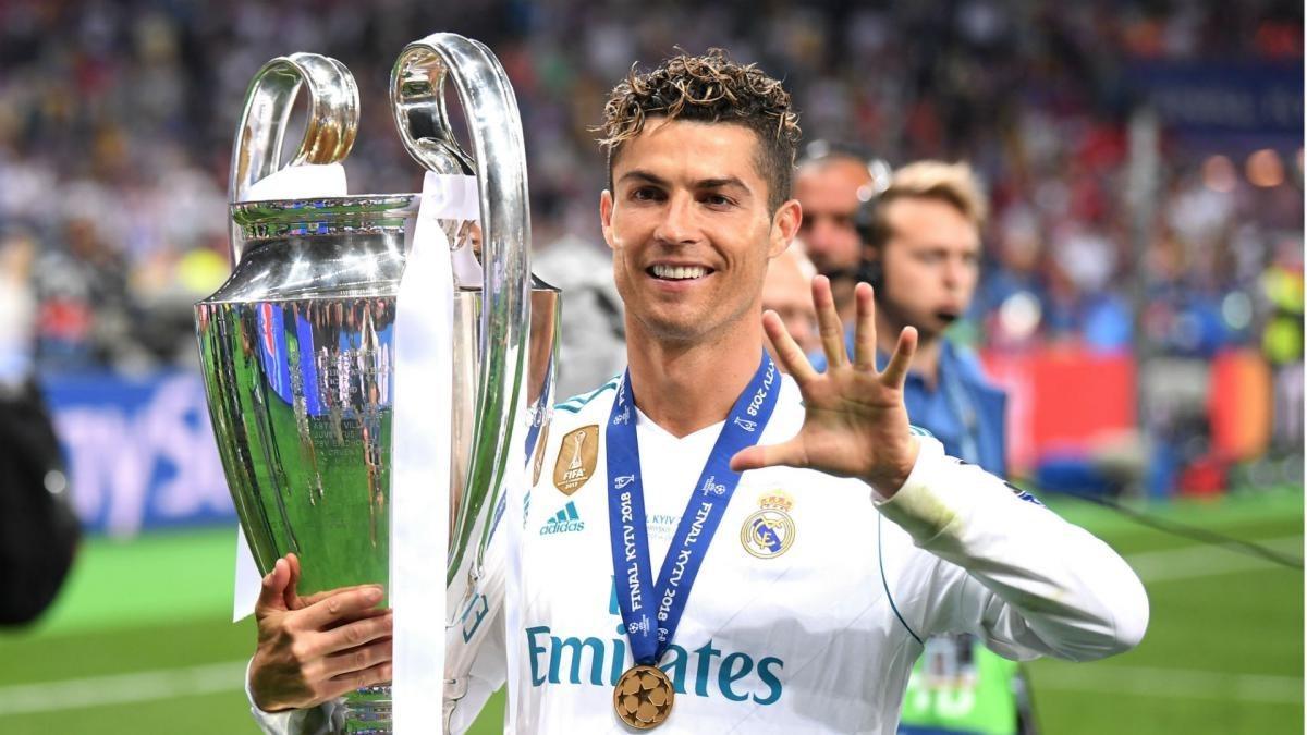 كريستيانو رونالدو بطلاً لدوري أبطال أوروبا مع ريال مدريد