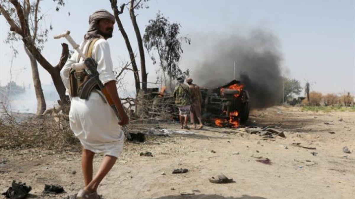 انفجاران عنيفان يدويان في مدينة مأرب اليمنية (أرشيف)