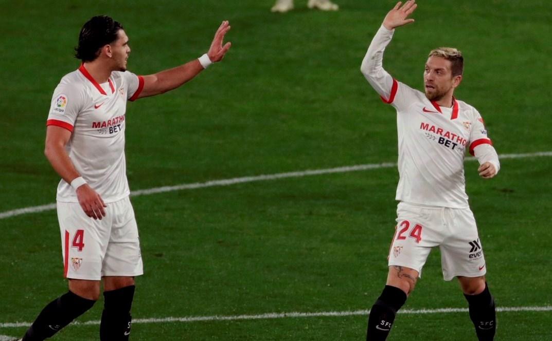 سجّل غوميز هدفه الأول مع إشبيلية