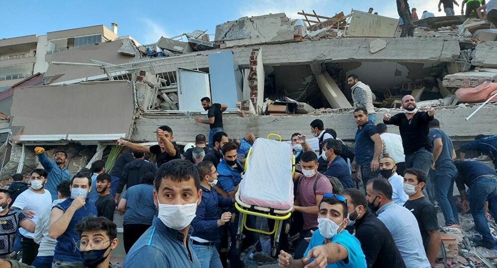 أضرار مادية وبشرية في زلزال يضرب تركيا (أرشيف)