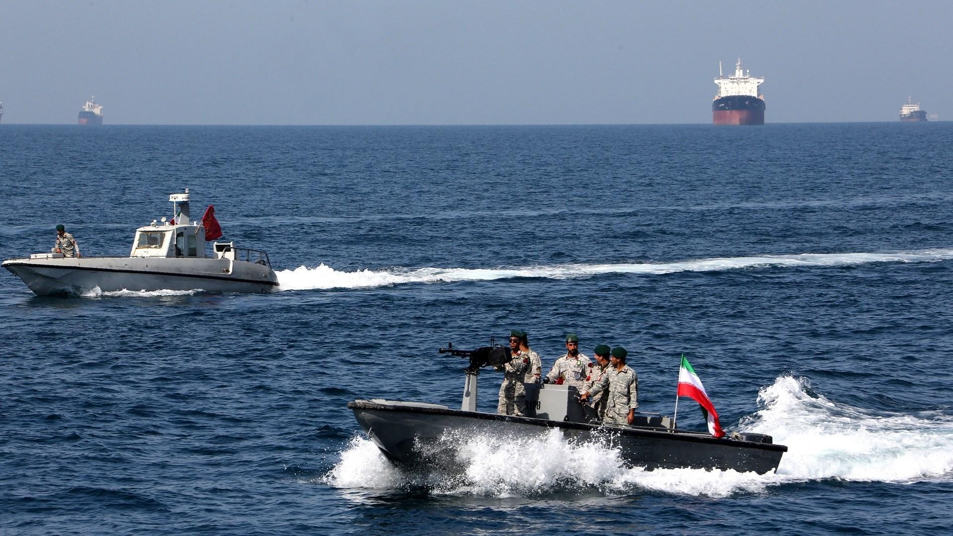 مناورات بحرية بمشاركة روسيا والصين وإيران شمالي المحيط الهندي