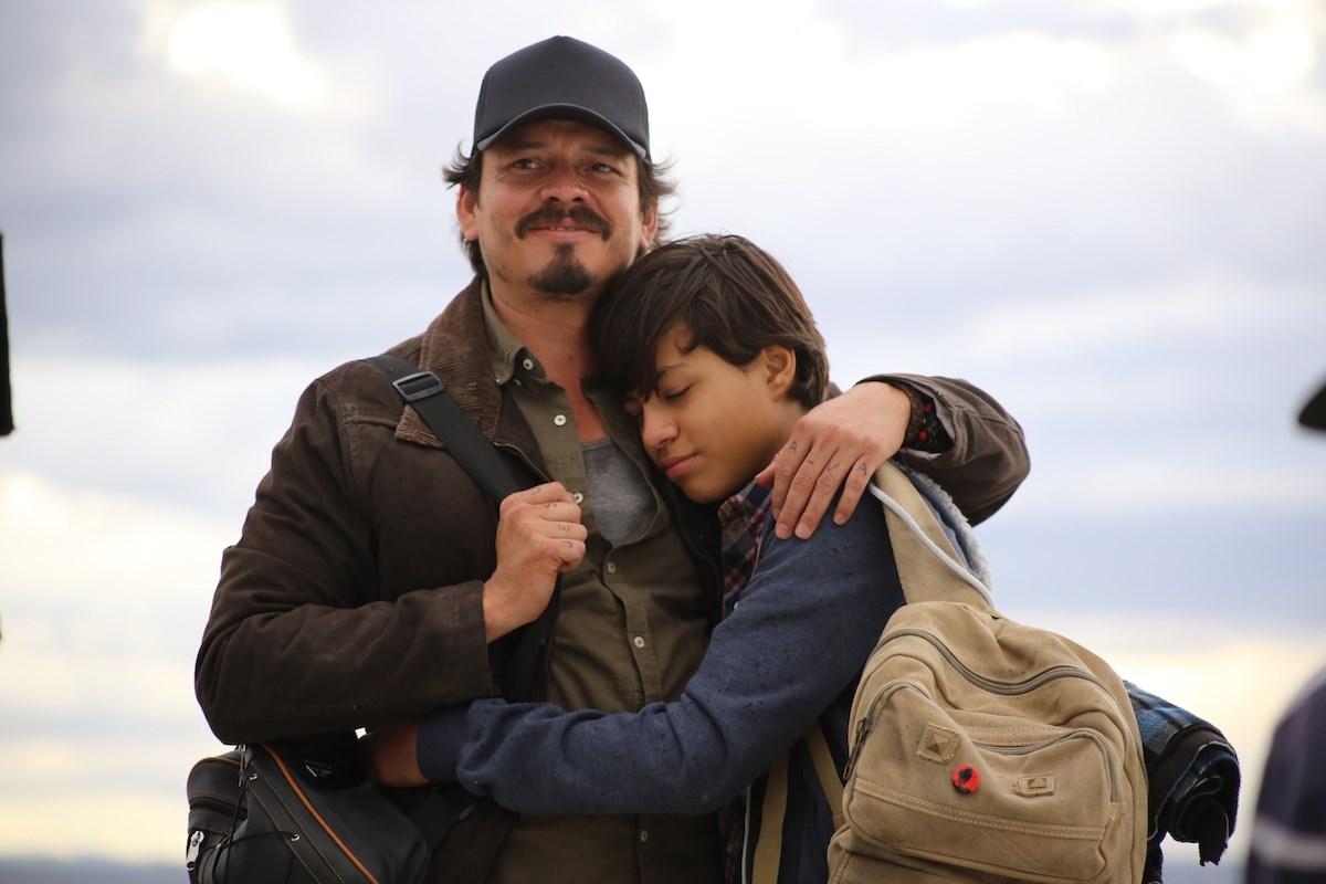الممثلان المكسيكيان:: الضحية ووالده