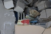 The Occupation Destroys the Samir Mansour Library in Gaza