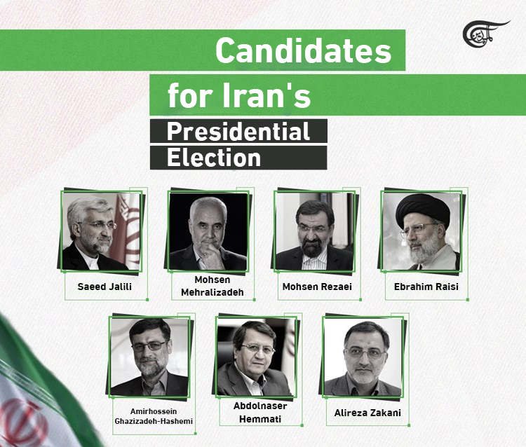 The candidates for Iran's Presidential Election 2021