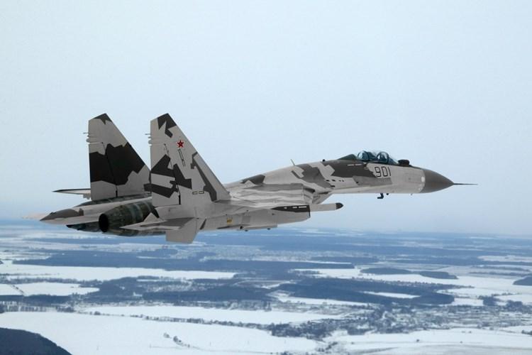 Russian Su-35 fighter