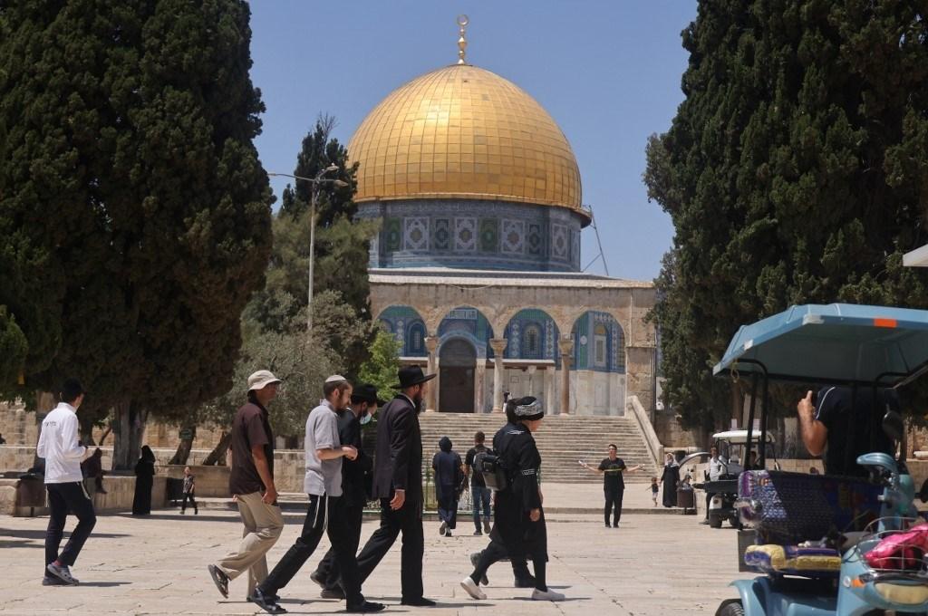 Abu Obeida says actions in Al-Aqsa are provocative.