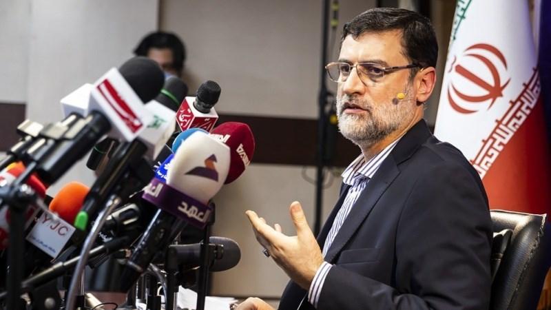 Presidential candidate Amir-Hossein Ghazizadeh Hashemi