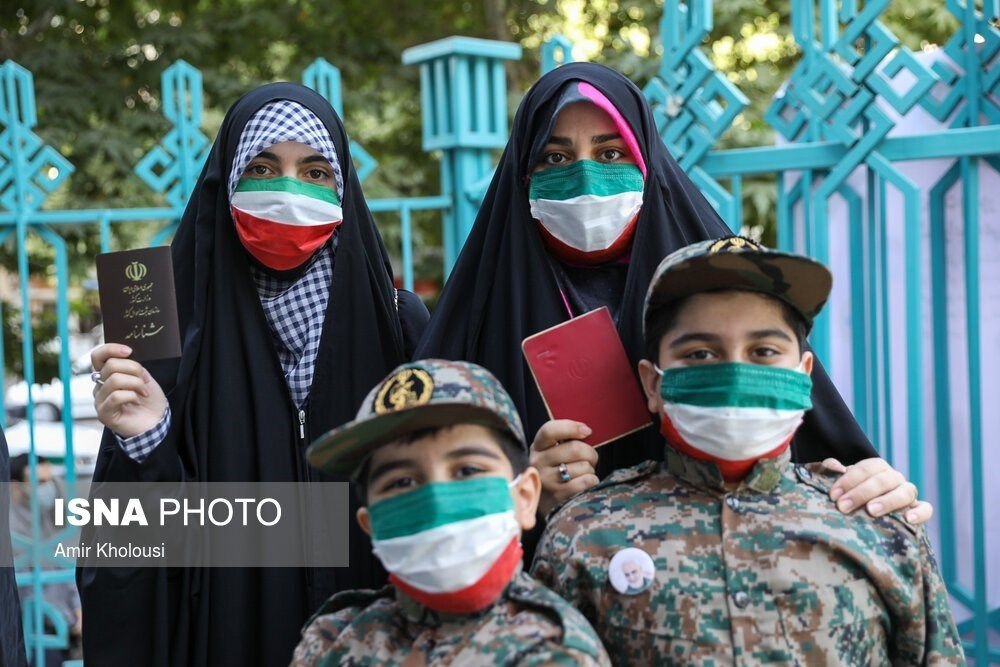 Polls open for Iranians in the country's 13th presidential election.