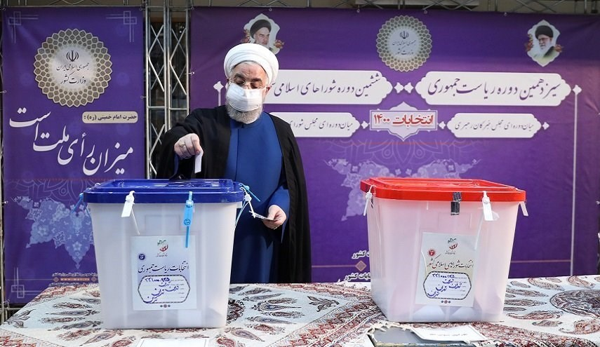 Iranian Officials Participate in Presidential Elections