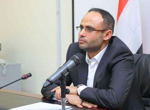 Head of the Supreme Political Council in Yemen Mahdi Al-Mashat (file photo).