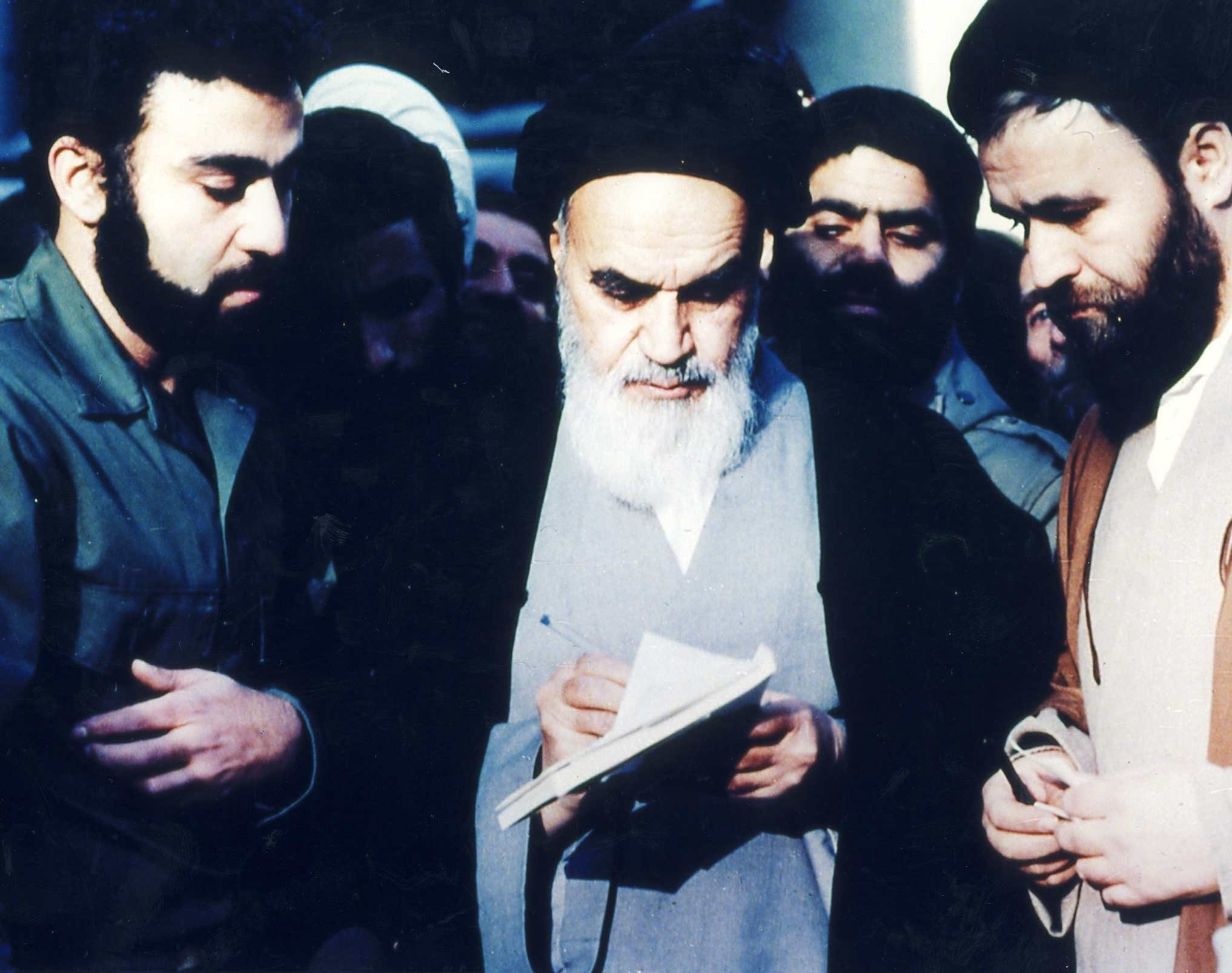 The 32nd anniversary of Imam Khomeini