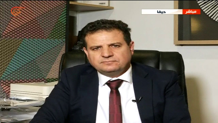 The head of the Joint List Ayman Odeh
