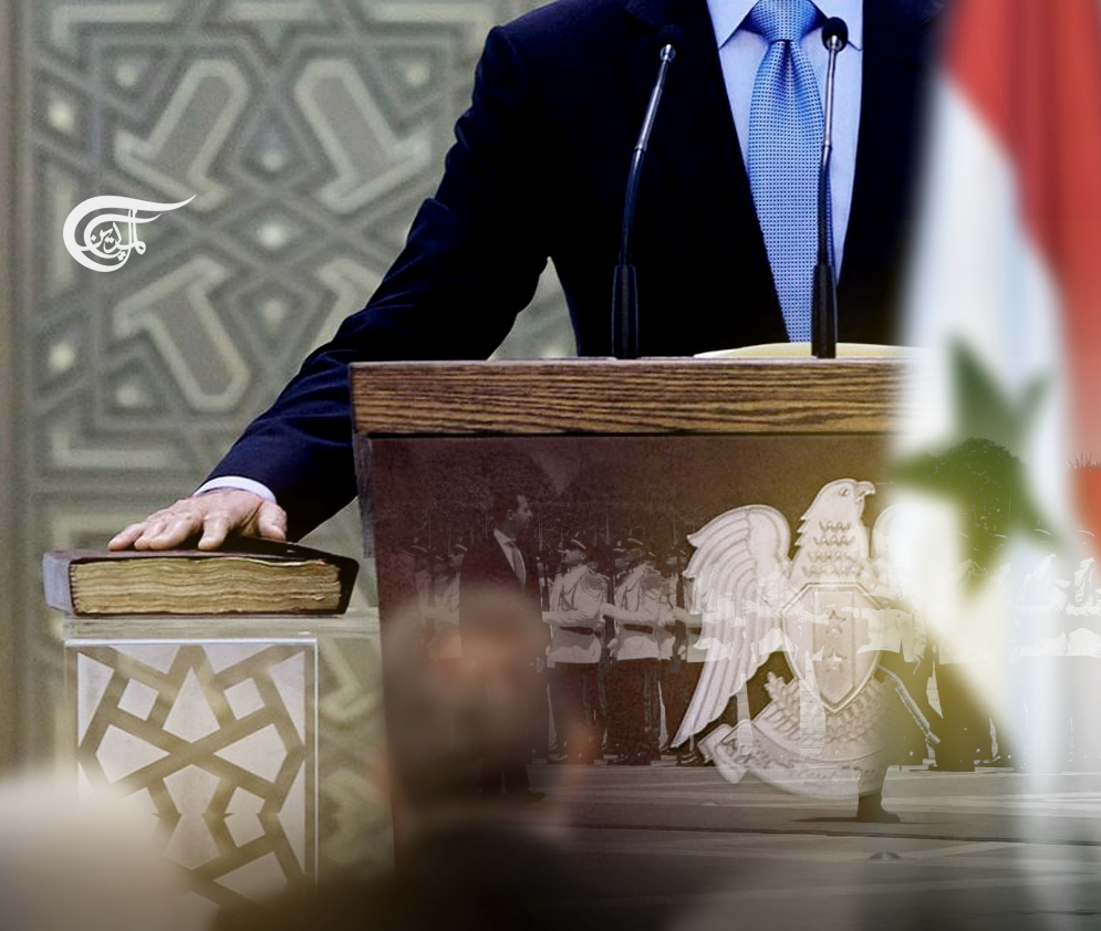 Al-Assad Takes Oath: Supporting Any Resistance in Syria against the Occupier Is a Duty