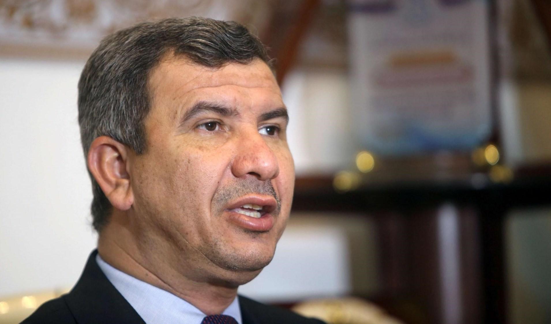Iraqi Oil Minister Ihsan Abdul-Jabbar
