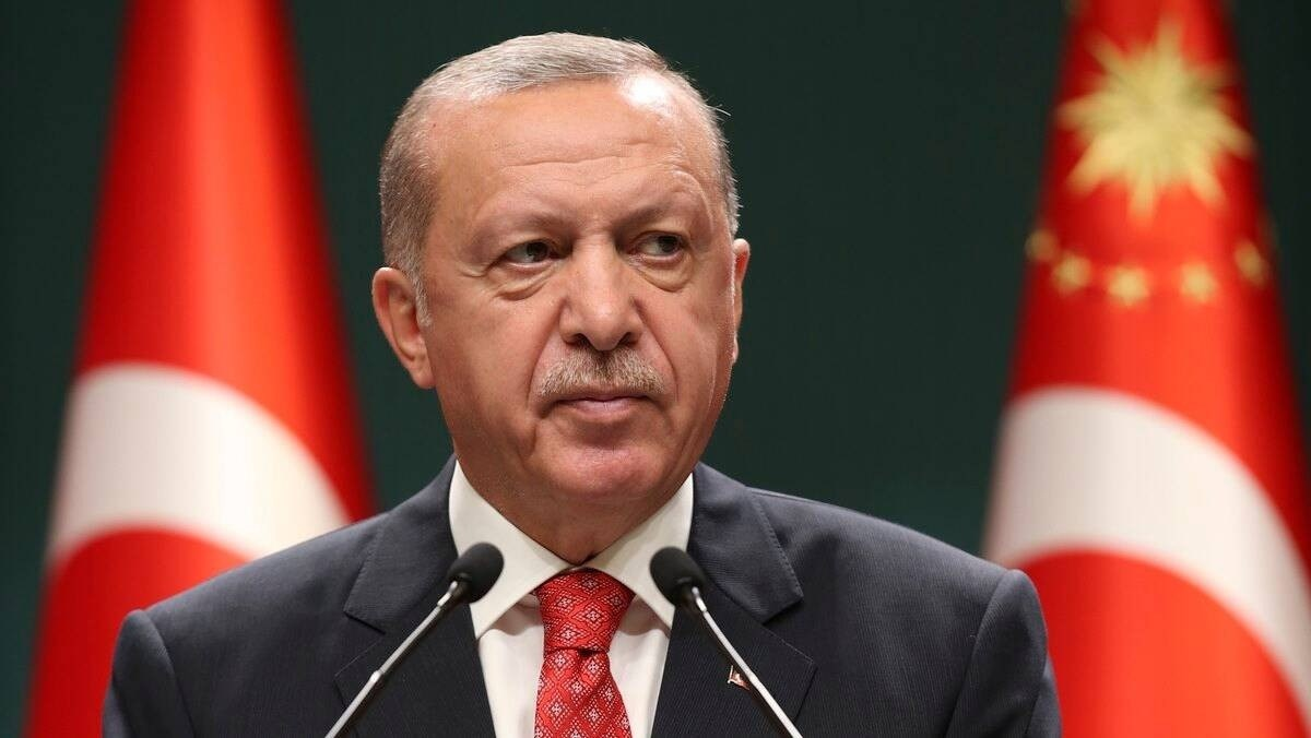 Erdogan Calls For Two States From North Cyprus