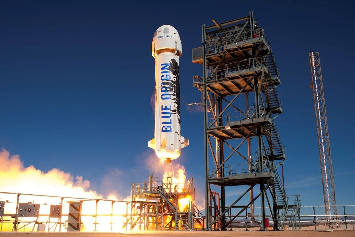 Bezos Goes to Space