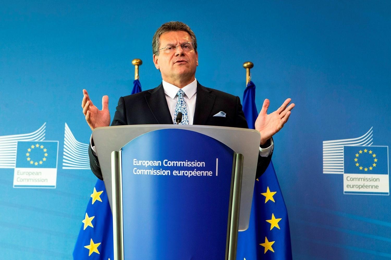 European Commissioner Maros Sefcovic